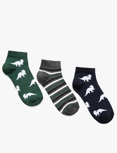 Koton Kids 3'lü Çorap Yeşil